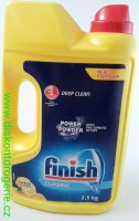 Calgonit Finish Prášek Power Powder Lemon 2,5 kg
