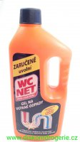 WC NET gel na ucpané odpady 1000 ml
