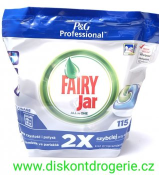 Fairy Jar tablety Expert All-in-1 115 ks