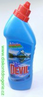 DR.DEVIL WC ČISTIČ 750ML POLAR AQUA