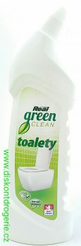 REAL GREEN CLEAN TOALETY 750G