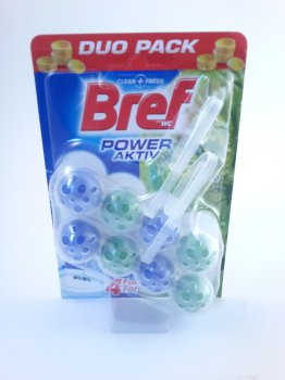 Bref Power Activ WC blok Pine 2x50 g