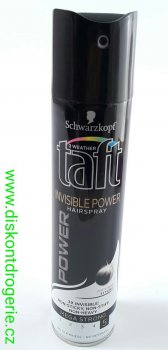 TAFT LAK POWER (5) INVISIBLE 250ml