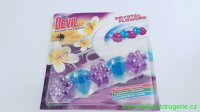 Dr.Devil WC Crystal Flowers Sunset Blossom WC závěs 30 g