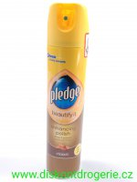PRONTO - Pledge  SPRAY CLASSIC HNĚDÝ  250ml