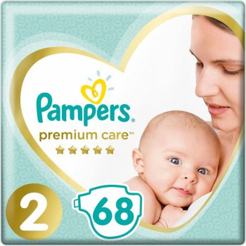 Pampers Pleny Premium Care 2 MINI 4-8 kg 68 ks