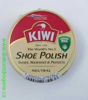 Kiwi Shoe Polish neutrální 50ml