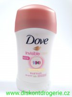 DOVE DEO STICK INVISIBLE DRY floral 40ml