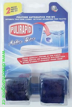 PULIRAPID WC CUBO ACTIVE BLU 2 KS DO NÁDRŽE  087