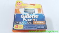 Gillette Fusion ProGlide Power 4 ks