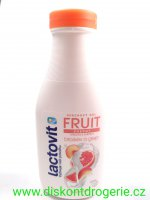Lactovit Fruit Broskev a grep sprchový gel 300 ml