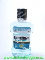 LISTERINE ÚV  250 ML ZERO MILDMINT - cool mint