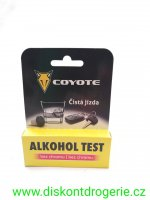 COYOTE alkohol test bez chromu