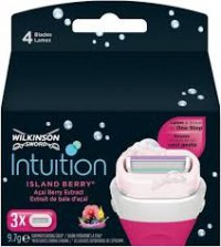 Wilkinson Sword Intuition Island berry 3 ks