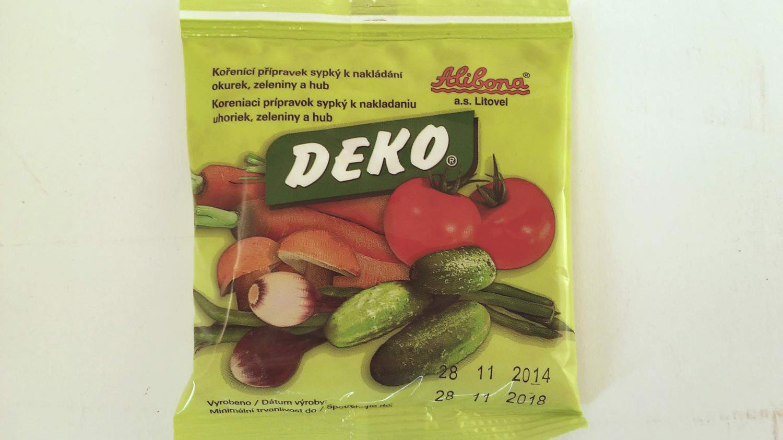 Deko N Lev 100g Drogerie Parf My Bio Produkty