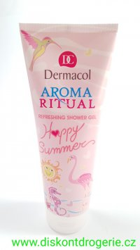 Dermacol Aroma Ritual Happy Summer sprchový gel 250 ml