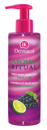Dermacol AROMA RITUAL STRESS RELIEF LIQUID SOAP - GRAPE AND LIME 250ml