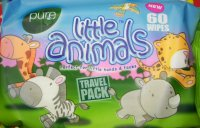 Pure Little Animals Travel Pack 60 ks
