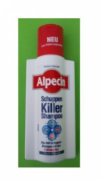 ALPECIN 4 Active/Schuppen Killer Shampoo 250 ml