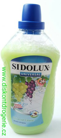 SIDOLUX  UNI SODA GREEN GRAPES 1L