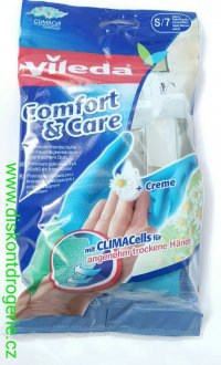 Rukavice Vileda Comfort & Care S