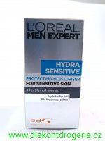 LOREAL MEN EXPERT HYDRA SENSITIVE 50ML 24h.hydratace