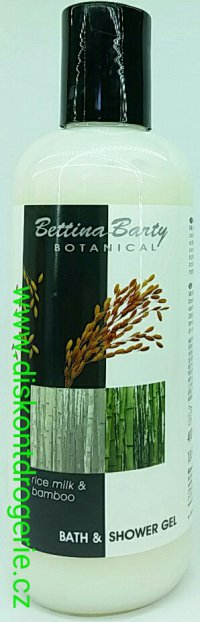 Bettina Barty Rice milk & bamboo bath & shower gel 400ml