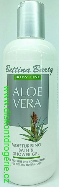 Bettina Barty body LINE aloe vera 400ml bath & shower gel