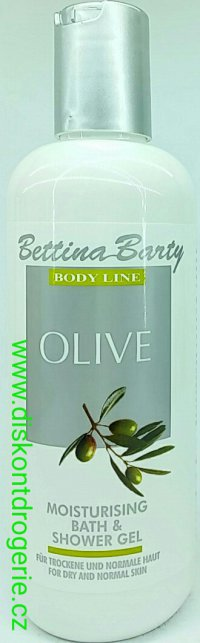 Bettina Barty body LINE olive bath & shower gel 400ml
