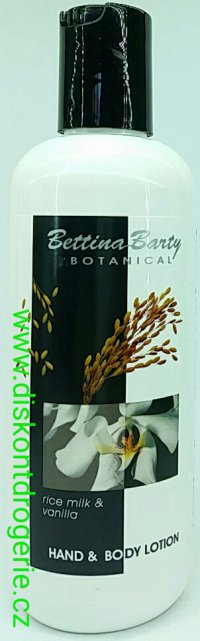 Bettina Barty Rice milk & Vanilla lotion 400ml