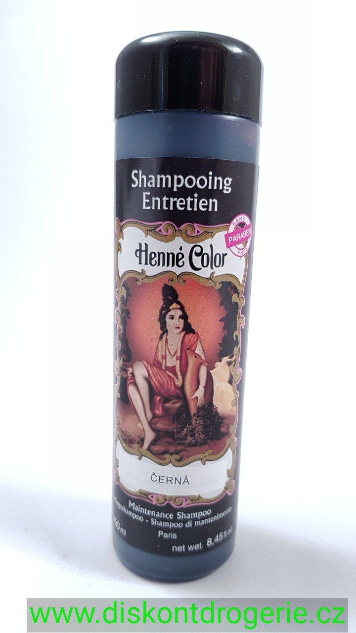 Henna Henné Color Šampon Černá 250 ml : Drogerie, parfémy
