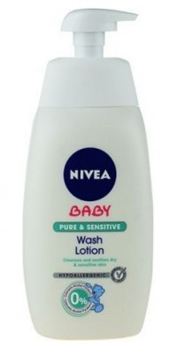 Nivea Baby Nutri sensitive Mycí gel 500 ml