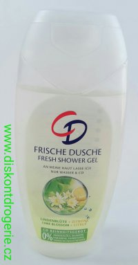 CD sprchový gel fresh shower lime and citrus 250ml
