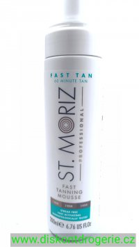 St. Moriz Professional Fast tan Mousse 200ml