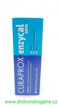 Curaprox Enzycal Zero zubní pasta 75 ml