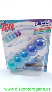 Dr. Devil Polar Aqua BiColor 5Ball Wc závěs 35 g