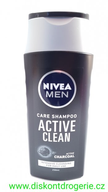 Nivea Men Active Clean šampon 250 ml