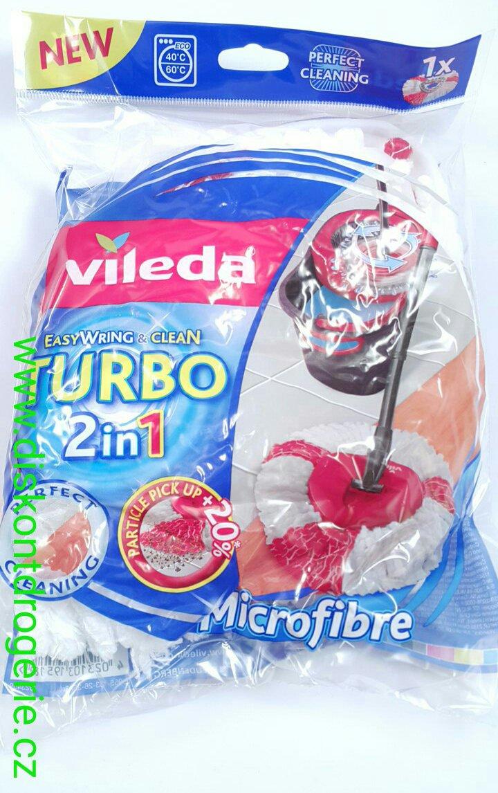 vileda easy wring clean turbo 2 v 1 n hrada 151608 drogerie parf my bio produkty. Black Bedroom Furniture Sets. Home Design Ideas